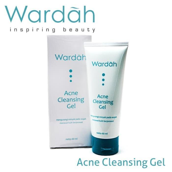 OBRAL Wardah Acne Cleansing Gel (Acne Series) TERMURAH