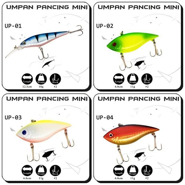 Rp 10.000 CrankBait Umpan Pancing Umpan Mancing Ikan ...