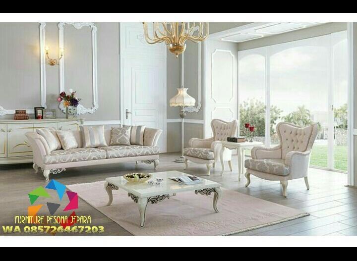 Sofa tamu set meja, Kursi sofa. PESONA JEPARA 145