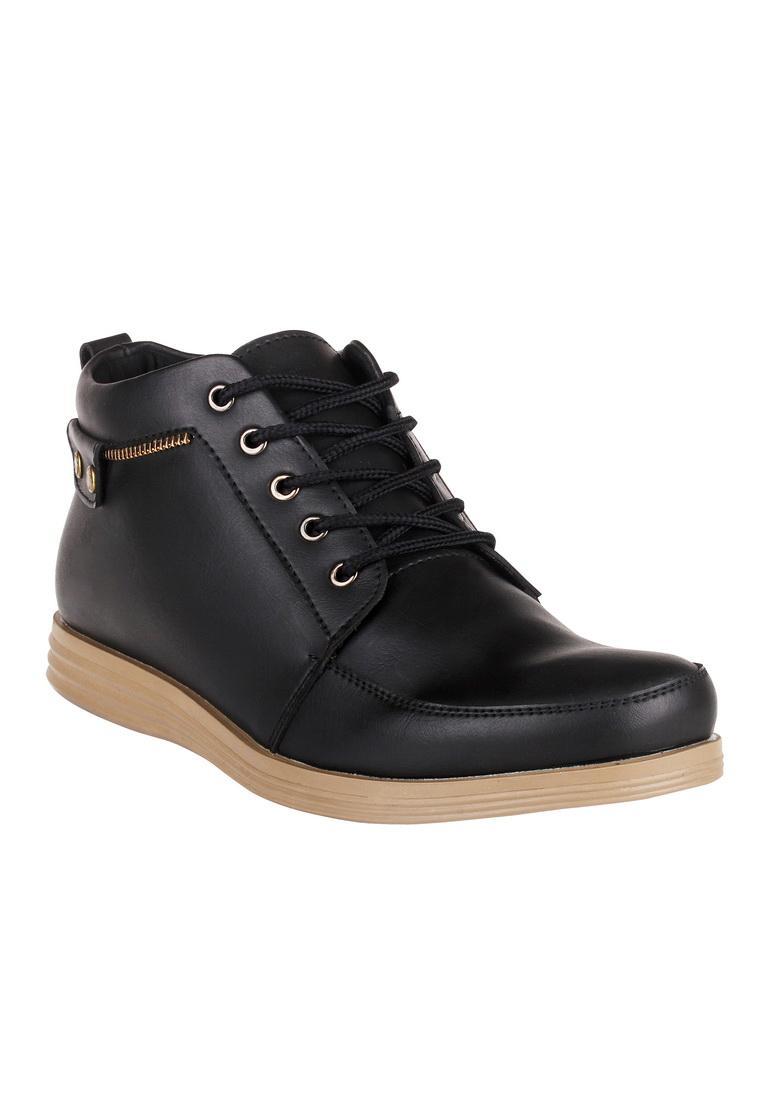 Blues Footwear Sepatu Pria Formal Semi Boot ZipStar Best Seller 5cce163849