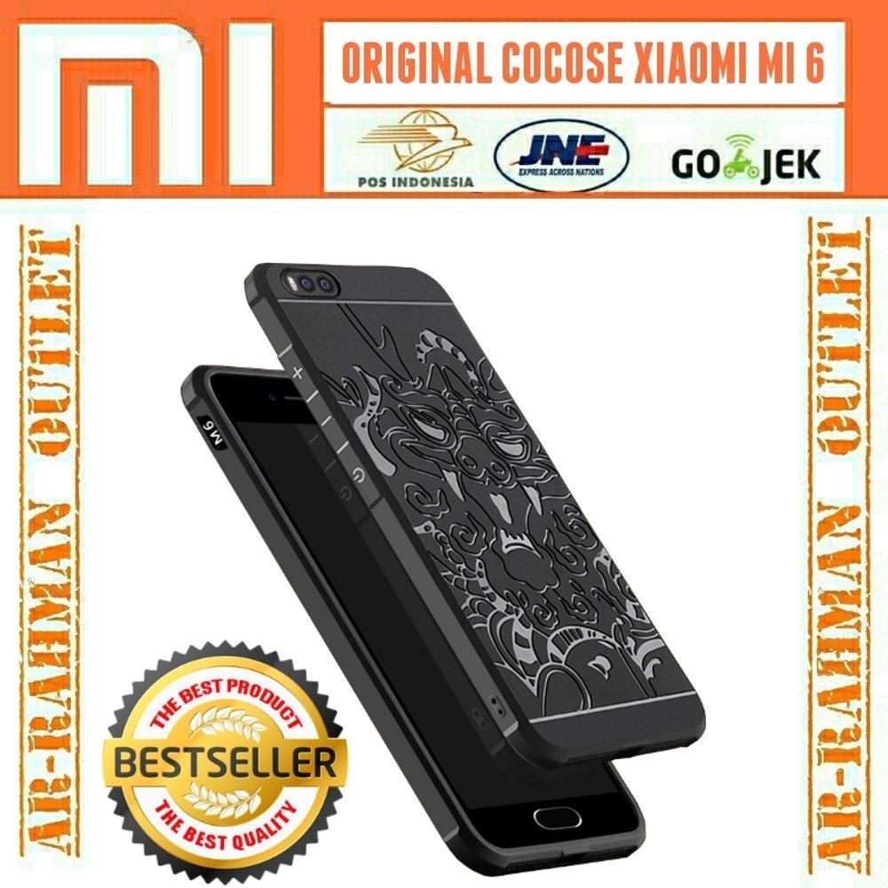 Xiaomi Mi6 mi 6 5.15 inch Casing Original Luxury Cocose dragon naga 3D Slim Armor Hybrid Case Cover