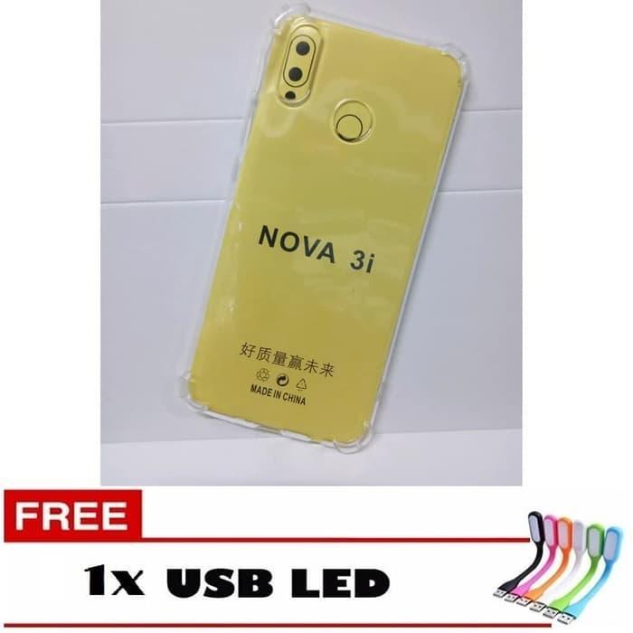 Case Anti Crack HUAWEI NOVA 3I FREE USB LED