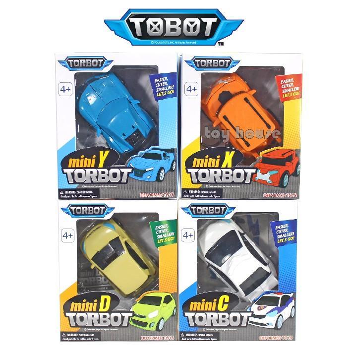 Figure Mini Tobot Transformable Robot Set Of 4Pcs