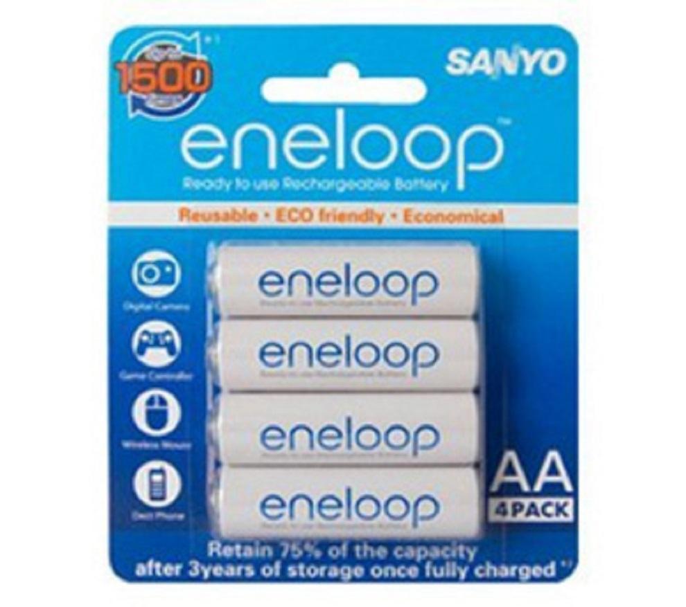 Sanyo Eneloop 2000mAh AA bp4
