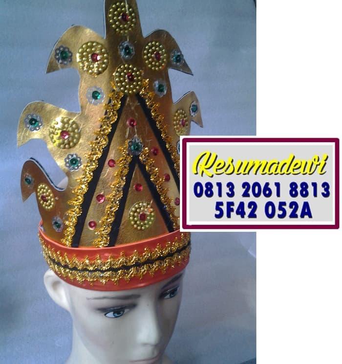 Terbaru! Mahkota Wanita Tapanuli Baju Adat Karnaval Kostum Tari Tradisional - ready stock