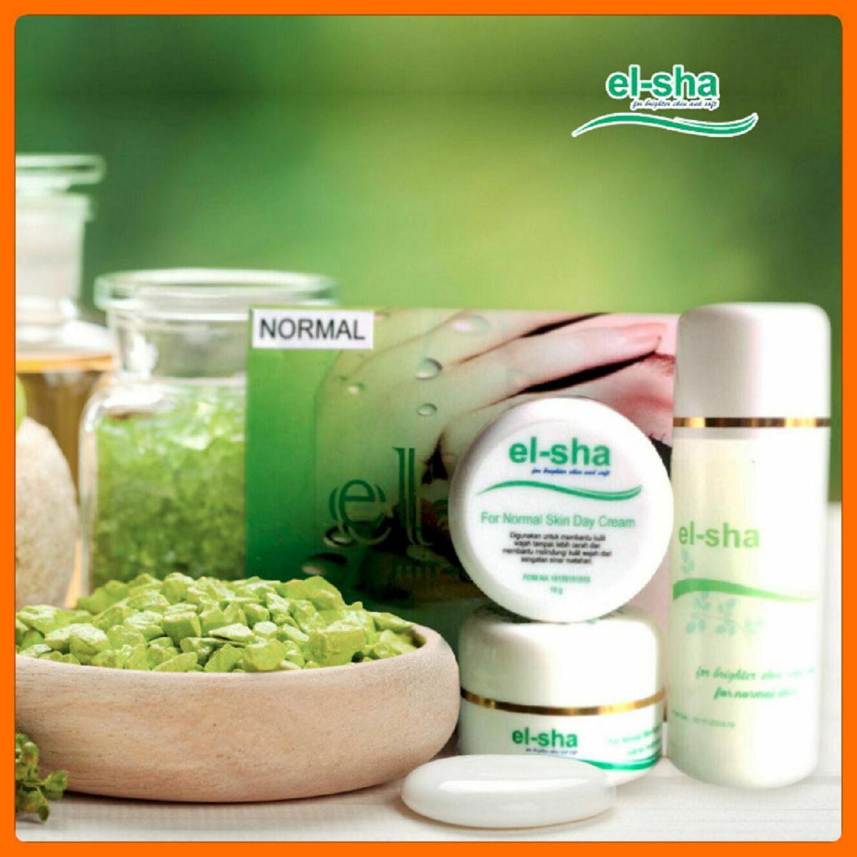el-sha cream pemutih dan pencerah wajah BPOM tanpa pengelupasan-10 gram memutihkan hanya dalam hitungan hari