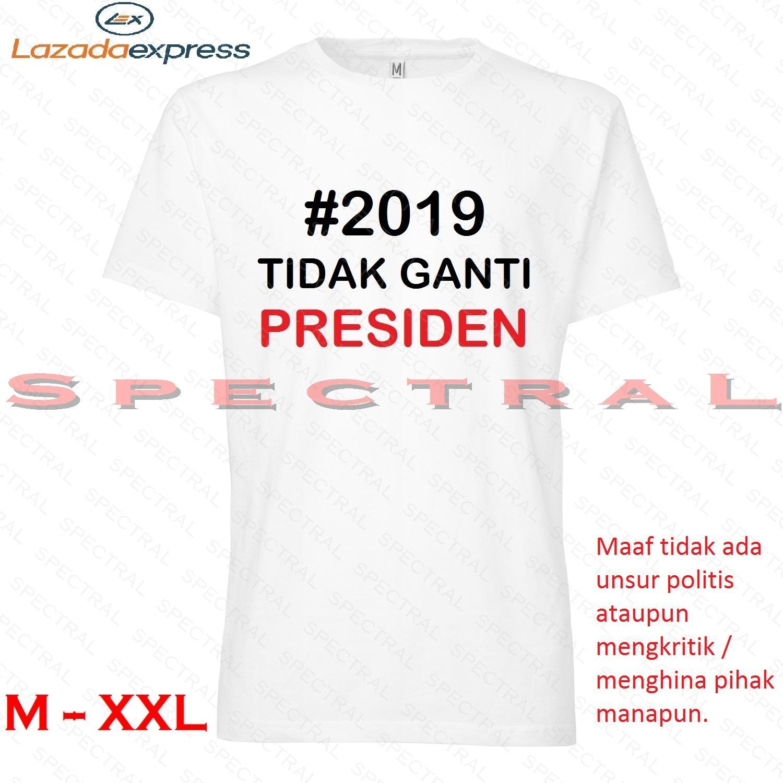 Spectral – #2019 TIDAK GANTI PRESIDEN M L XL XXL Kaos Distro Fashion T-Shirt Baju Pakaian #ganti Pria Wanita Cewe Cowo Lengan Murah Bagus Keren #gantipresiden2019 #gantipresiden Tulisan Kata-Kata kata #Ganti Gantipresiden Indonesia  Jokowi Tagar 2019