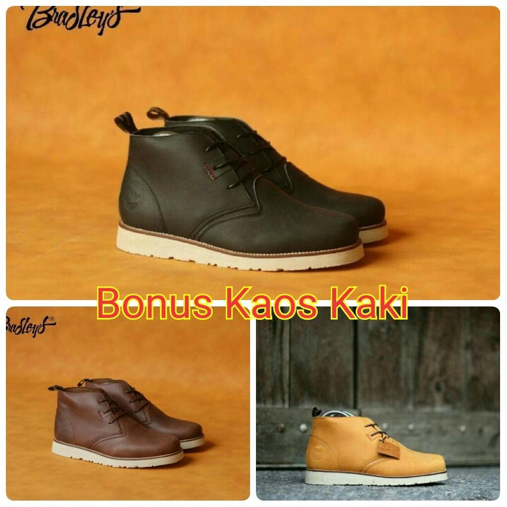 Buy Sell Cheapest Promo Bradley S Best Quality Product Deals Sepatu Boot Erol Boots Pria Kulit Premium Gentleman Real Men Bradleys Massimo Diskon