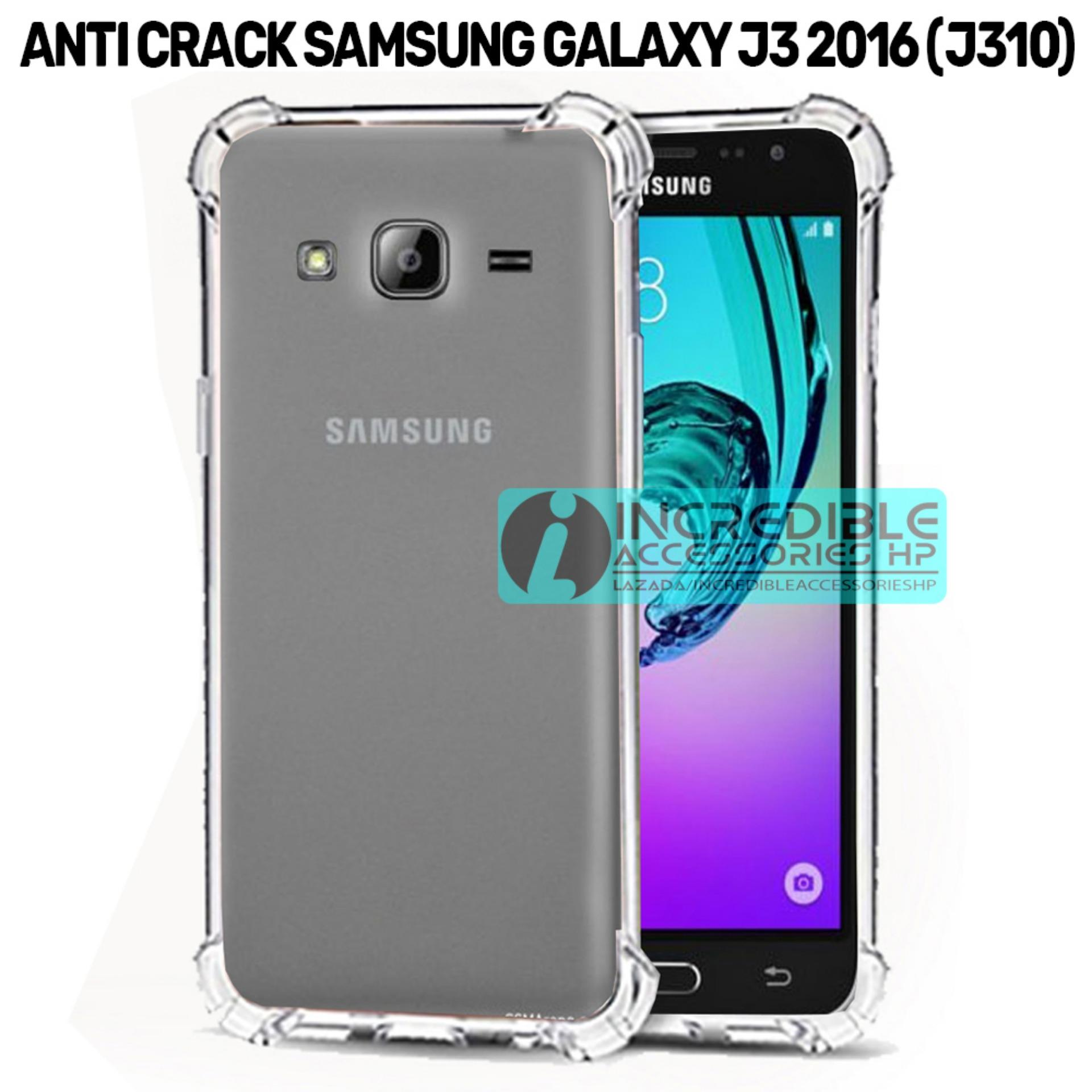 Case Anti Shock Crack Elegant Softcase For Samsung Galaxy J3 2016 J310