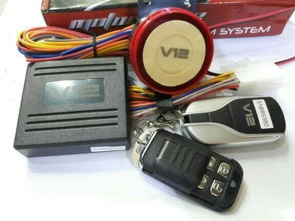 BEST SELLER!!! ALARM MOTOR V12 VINYX UNIVERSAL - ioATlP