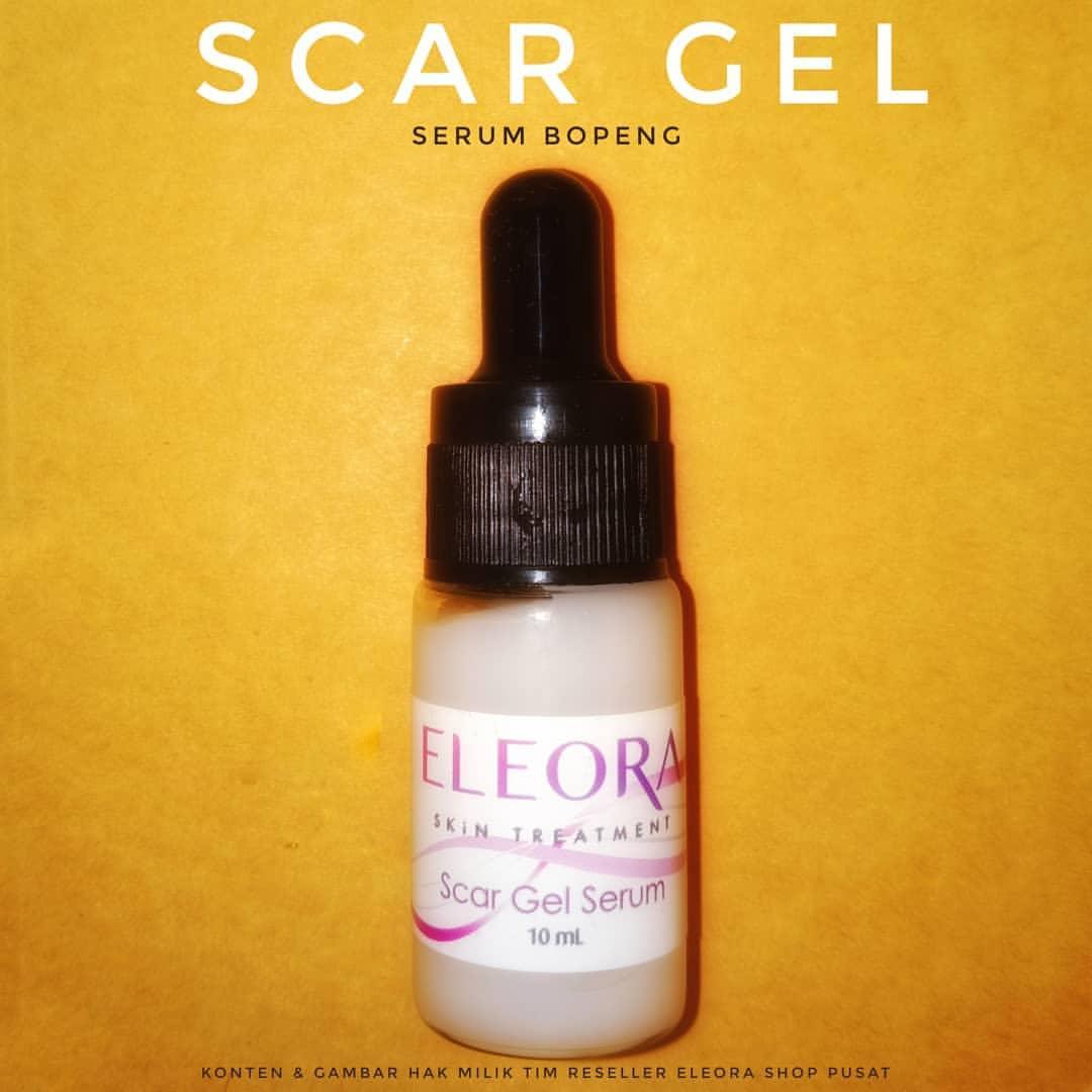 Eleora Serum Bopeng - Menghaluskan wajah yang berpori , bekas luka, lubang bekas jerawat dan cacar