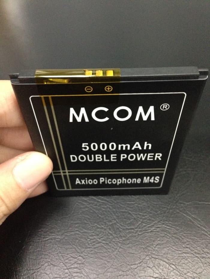 MCOM Original Baterai Axioo Picophone M4S M2/M Double Power Battery