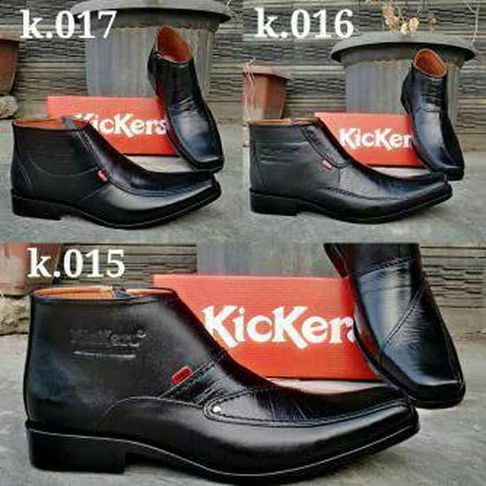 Sepatu Kickers K.015 K.016 K.017 (Sepatu pria,kulit, Pantofel boot) - IPyVI6