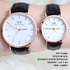 Jam tangan COUPLE TERMURAH FLASH SALE DISKON sepasang grosir ecer new Keren