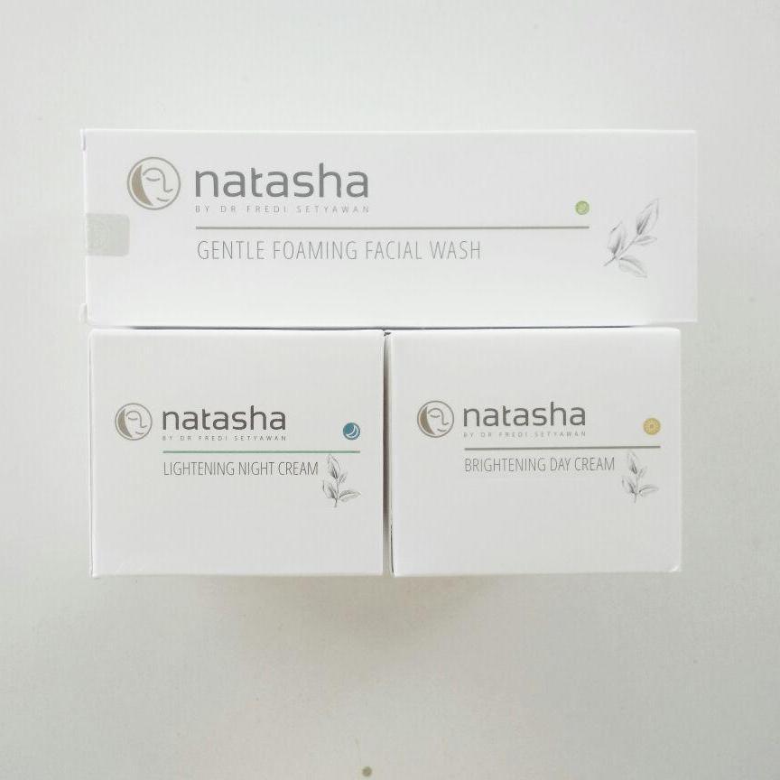 Paket Natasha for Face (Face Wash, Nigh & Day Cream)