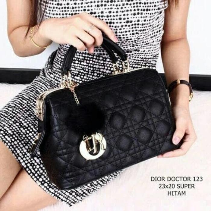 BEST SELLER- Tas Dior Doctor 123 Tas Import/ 47125 ss.vio /TAS BRANDED / TAS IMPORT MURAH /TAS selempang wanita /TAS DIOR ORIGINAL