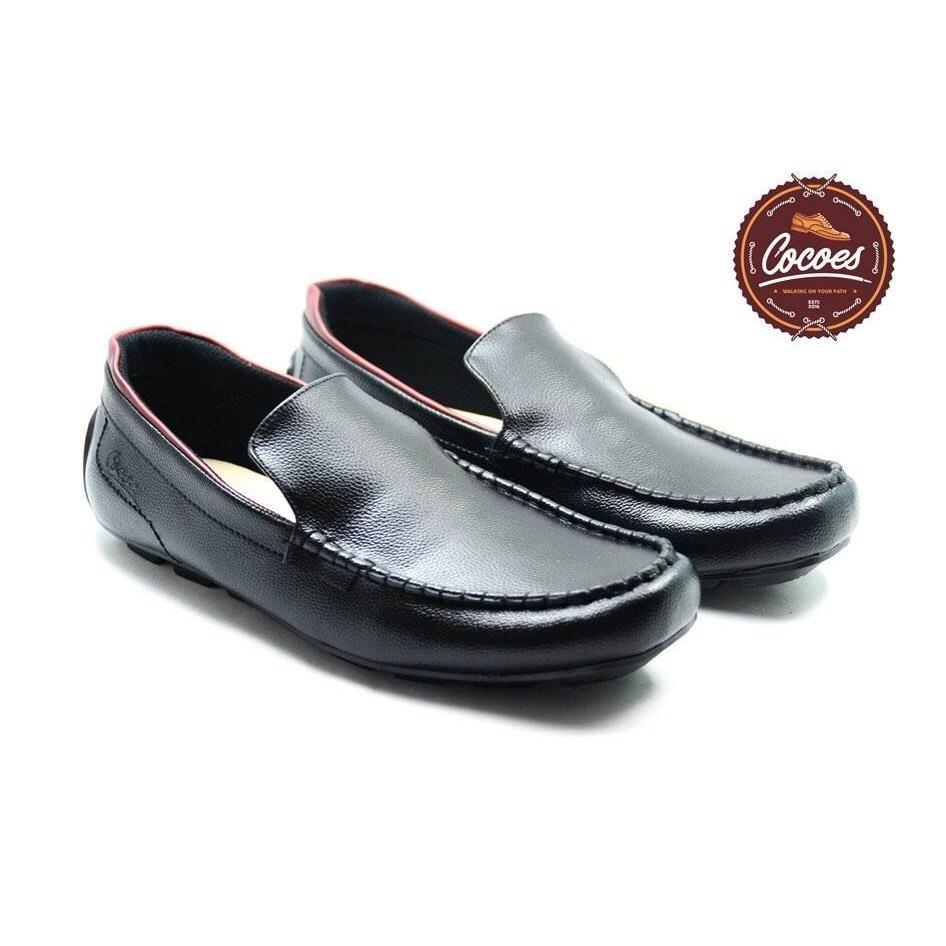 Sepatu Casual Slop Pria Original Cocoes Architetto Moccasin