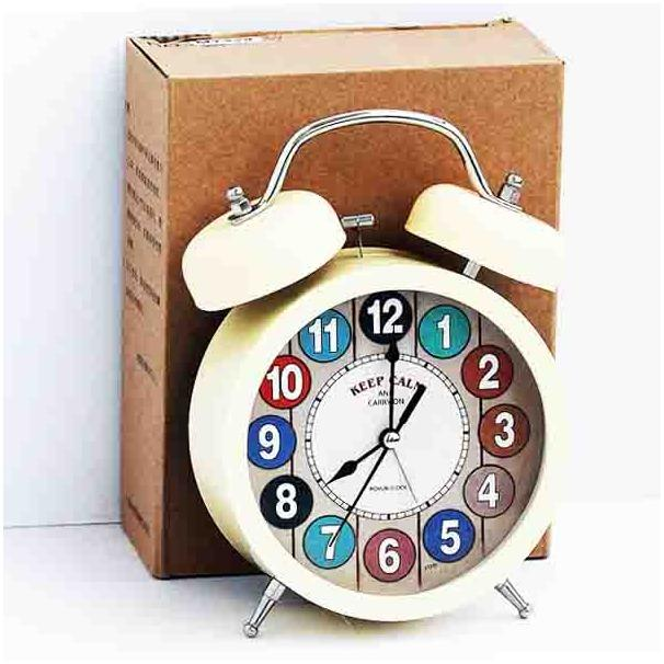MAO Alarm Clock - Jam Weker - Jam Murah Kualitas Bagus  XT329SV