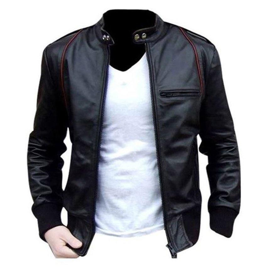Jaket Kulit / Jaket Ariel Piterpan / Jaket Ariel Noah [Black] size S M L XL