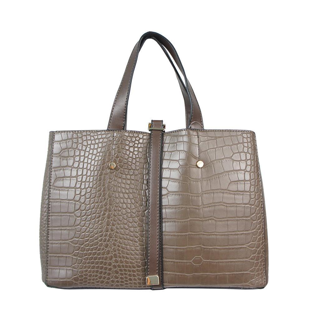 Bellezza MS-E200 Leather Saffiano Hand Bag