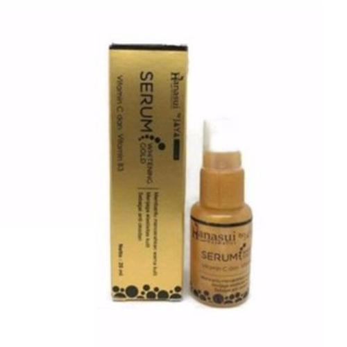 Hanasui Whitening Serum Gold  Original BPOM - 20ml