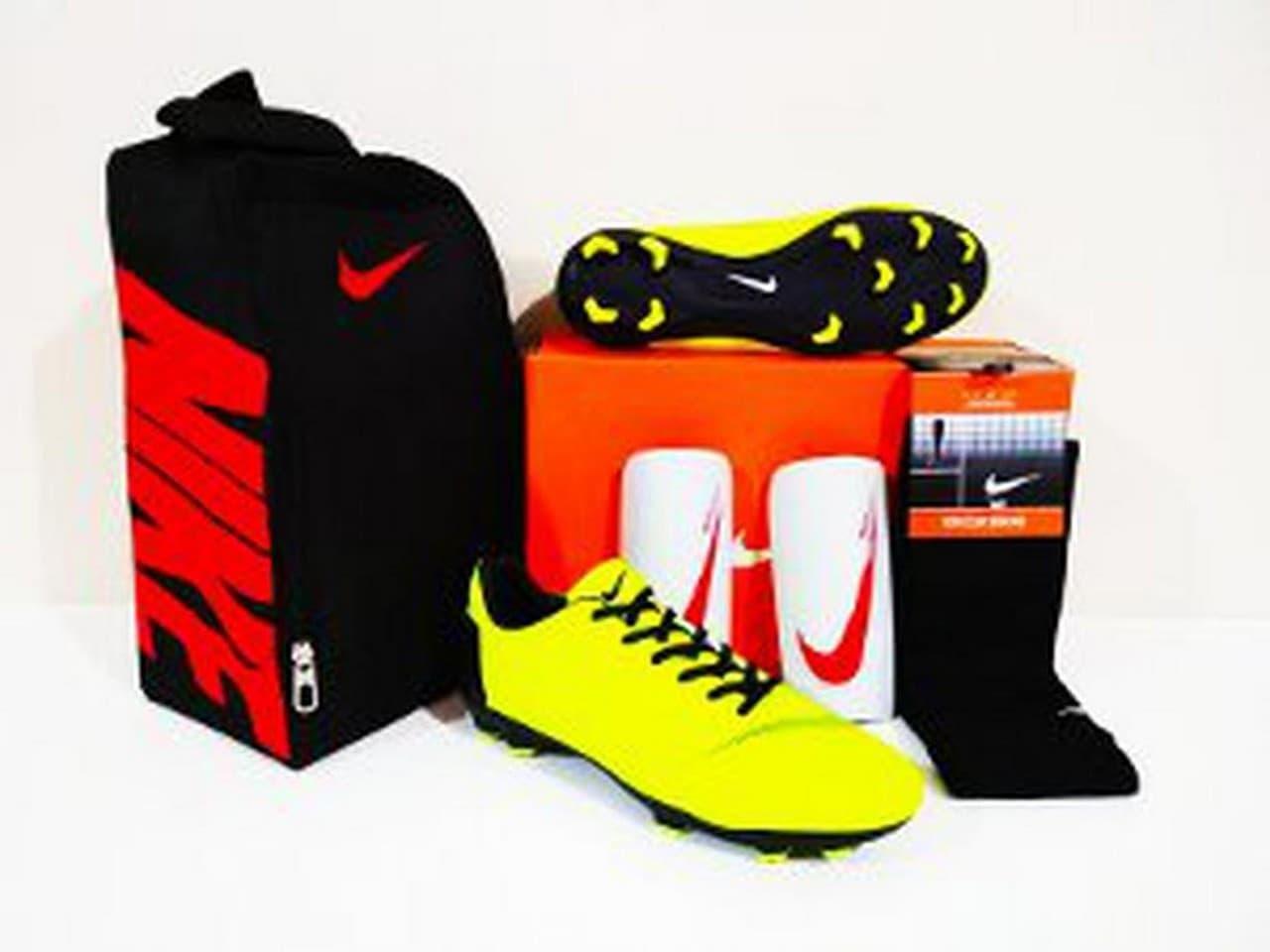 PAKET BONUS HEMAT Sepatu Bola Nike MERCURIAL Vapor New FG - Stabi