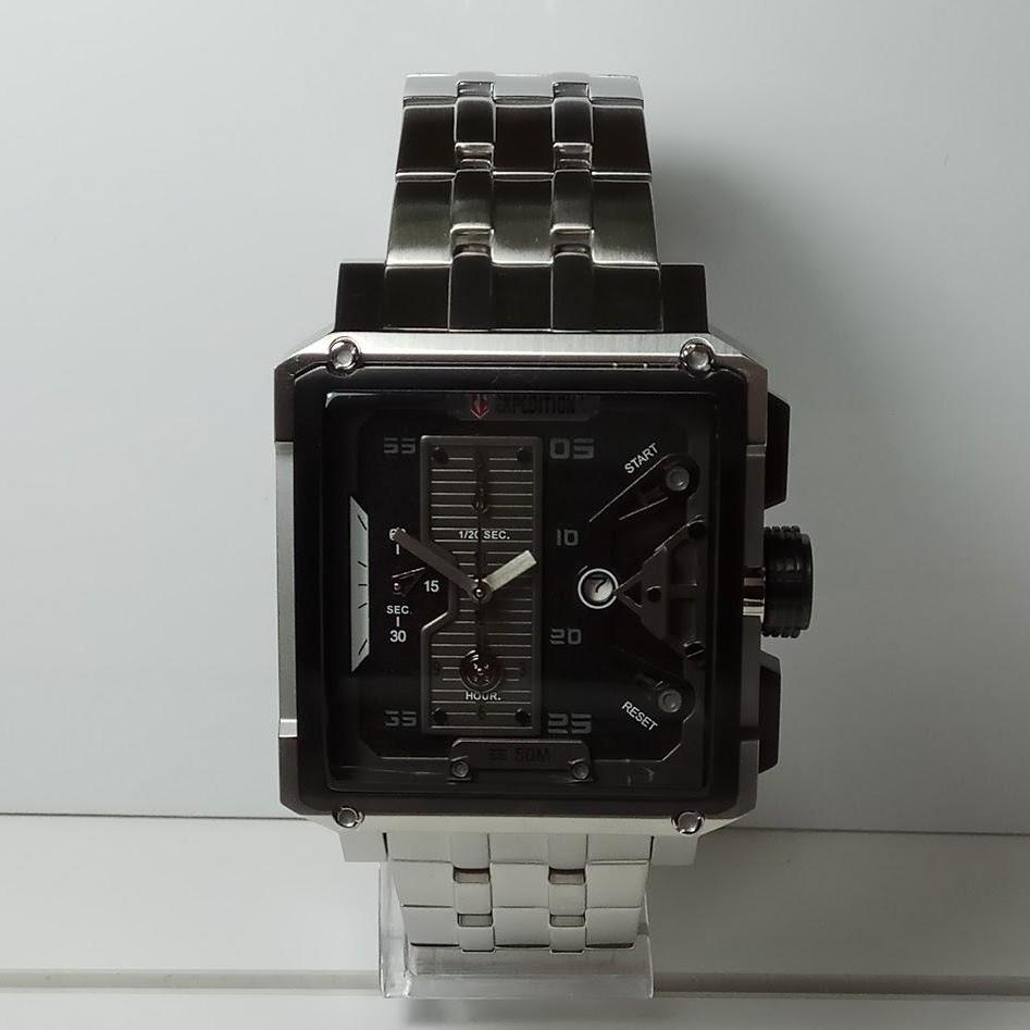 Jual Produk Expedition Terlengkap Alexandre Christie Jam Tangan Pria Ac668lw Silver E6695mc Chronograph Stainless Steel Dial Black