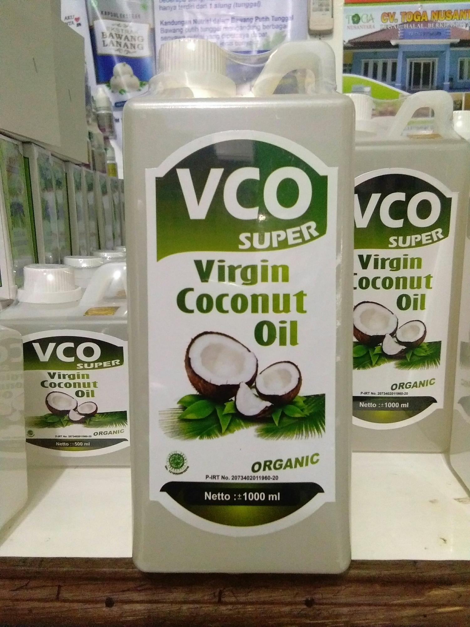 Minyak VCO Super Organic / virgin Coconut Oil 1000ml
