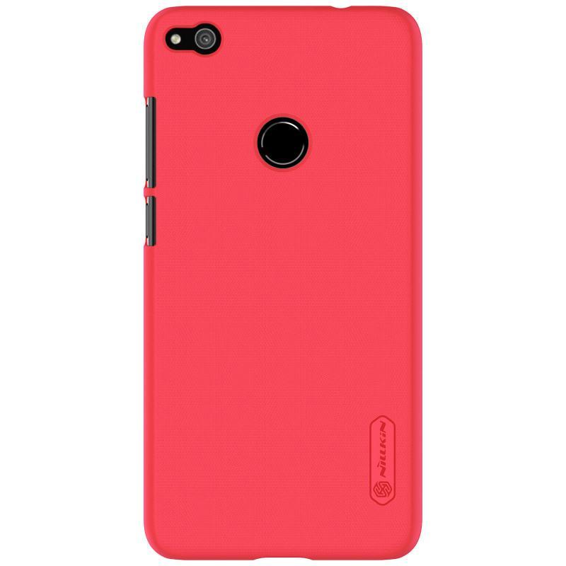 Nillkin For Huawei P8 Lite (2017) Super Frosted Shield Hard Case Original Merah +