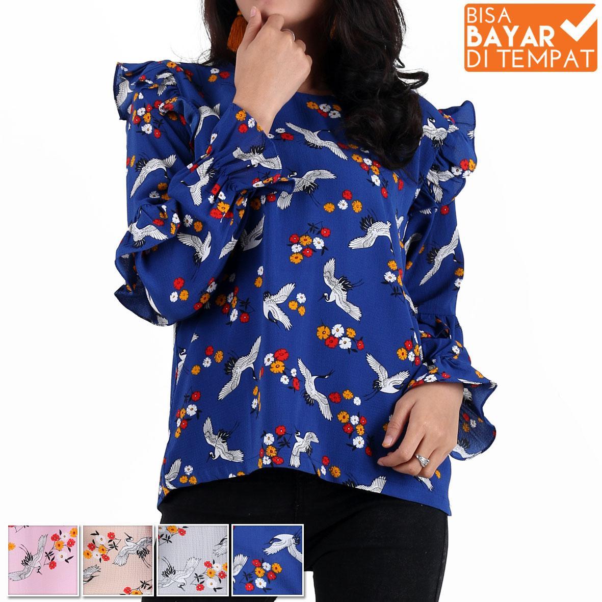 All Item 35K Baju wanita baju remaja baju korea blouse wanita blouse casual blouse kerja blouse