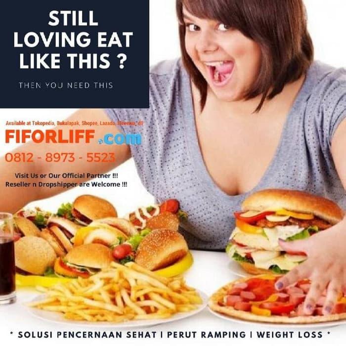 Hot Item!! Fiforlif Pelangsing BpomU002Ffiforlif Slim HerbalU002Fobat Pelangsing - ready stock
