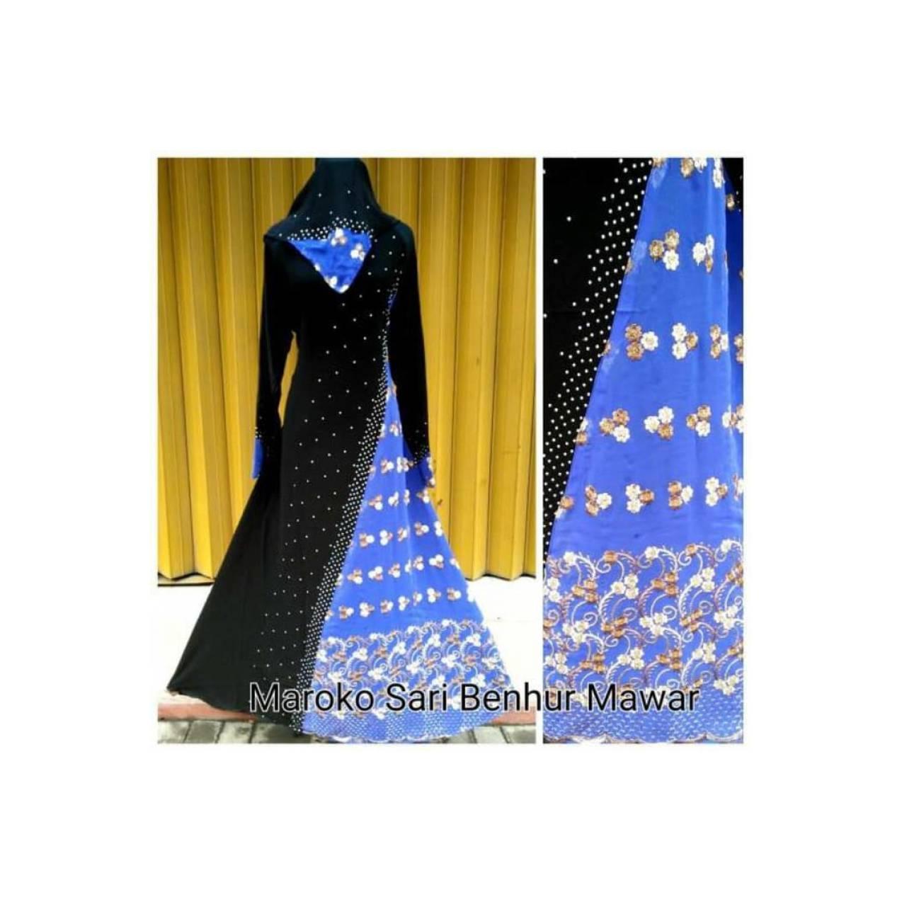 Gamis Abaya Maroko Sari India / Gamis Premium Elegan Murah