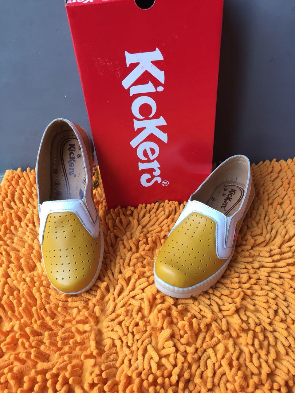 Flat Shoes Wanita Harga Spesifikasi. Source · Kickers Slip On Original Leather .