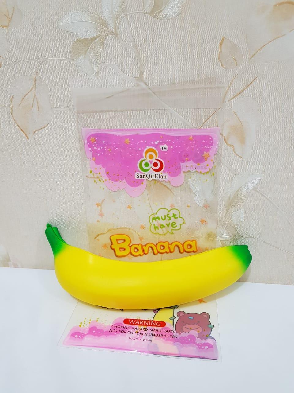 SQUISHY MURAH / Squishy Banana / Pisang Soft & Slow