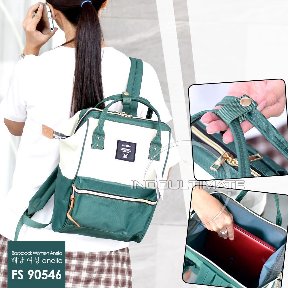 Ultimate Tas Ransel Wanita FS-90546 -Ukuran M / Tas 2in1 Cewek Backpack Korea Import Batam Murah Branded Cantik - Size M