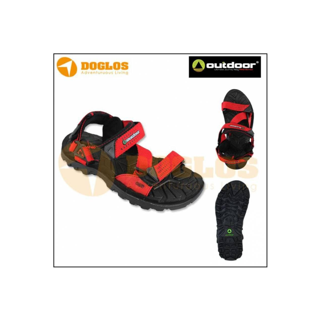Sandal Gunung - Outdoor Aragon Red (Sendal/Selop/Not Eiger/Footwear)