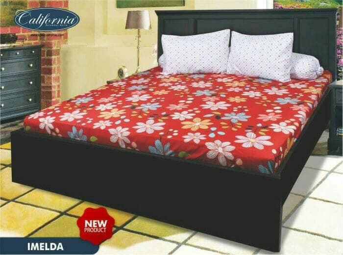 Sprei California Imelda No.2 Queen 160 Seprai Sprai Sepray Bed Bedding By Nemo Store