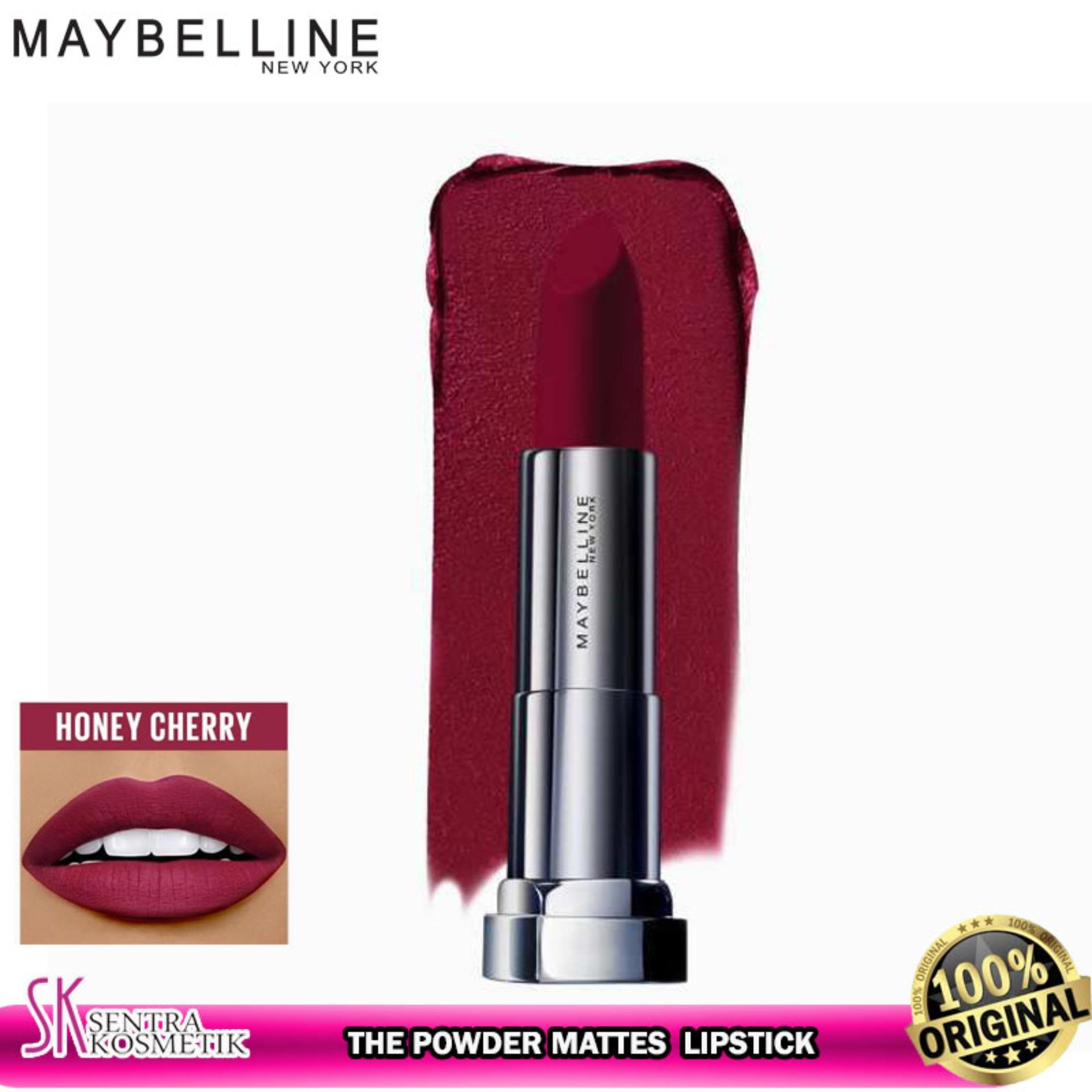 MAYBELLINE Color Sensational The Powder Mattes Lipstick - HONEY CHERRY