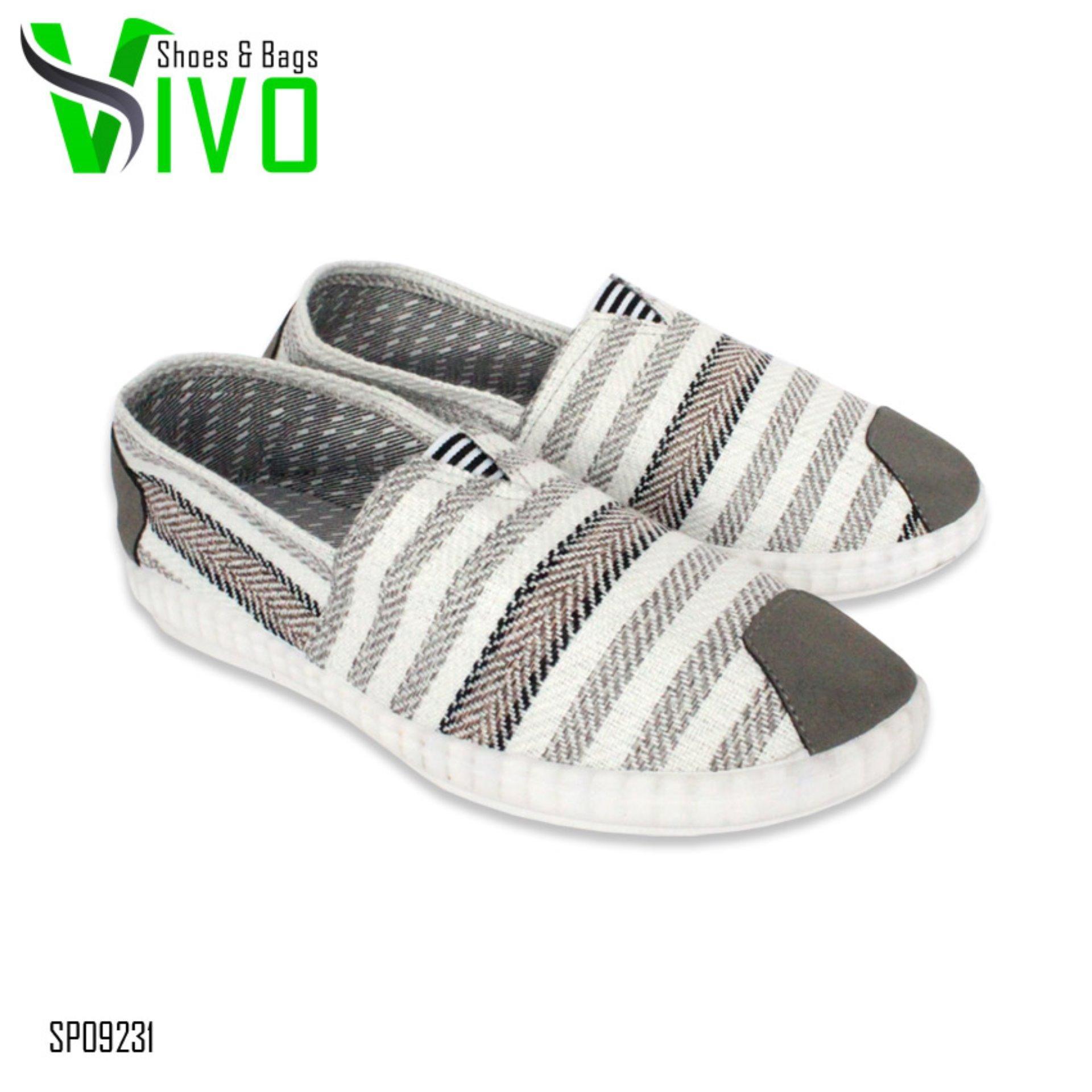 Milton Kanvas Sandal Sepatu Selop Casual Pria 02 Coklat Size 39 43 Homyped Confero 01 Tan Cokelat Muda 42 Vivo Kets Sneakers Dan Kasual