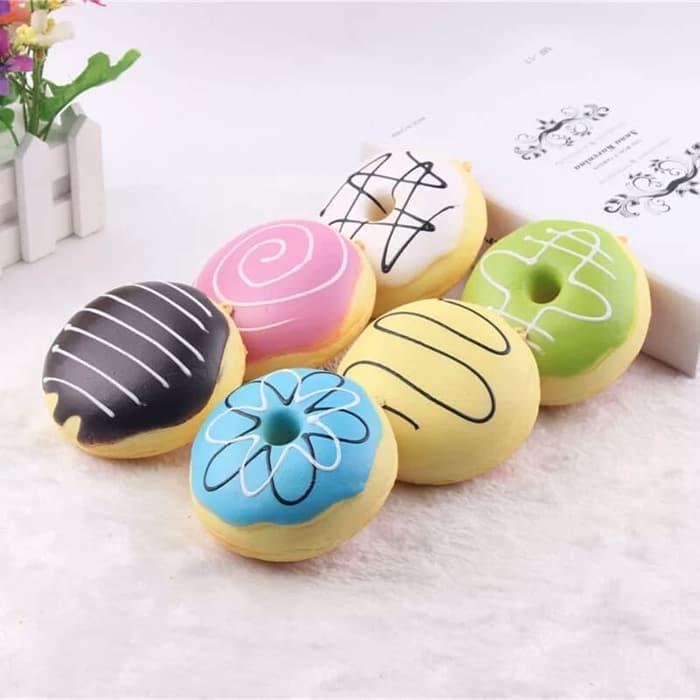 Squishy murah model donut best seller mainan anak
