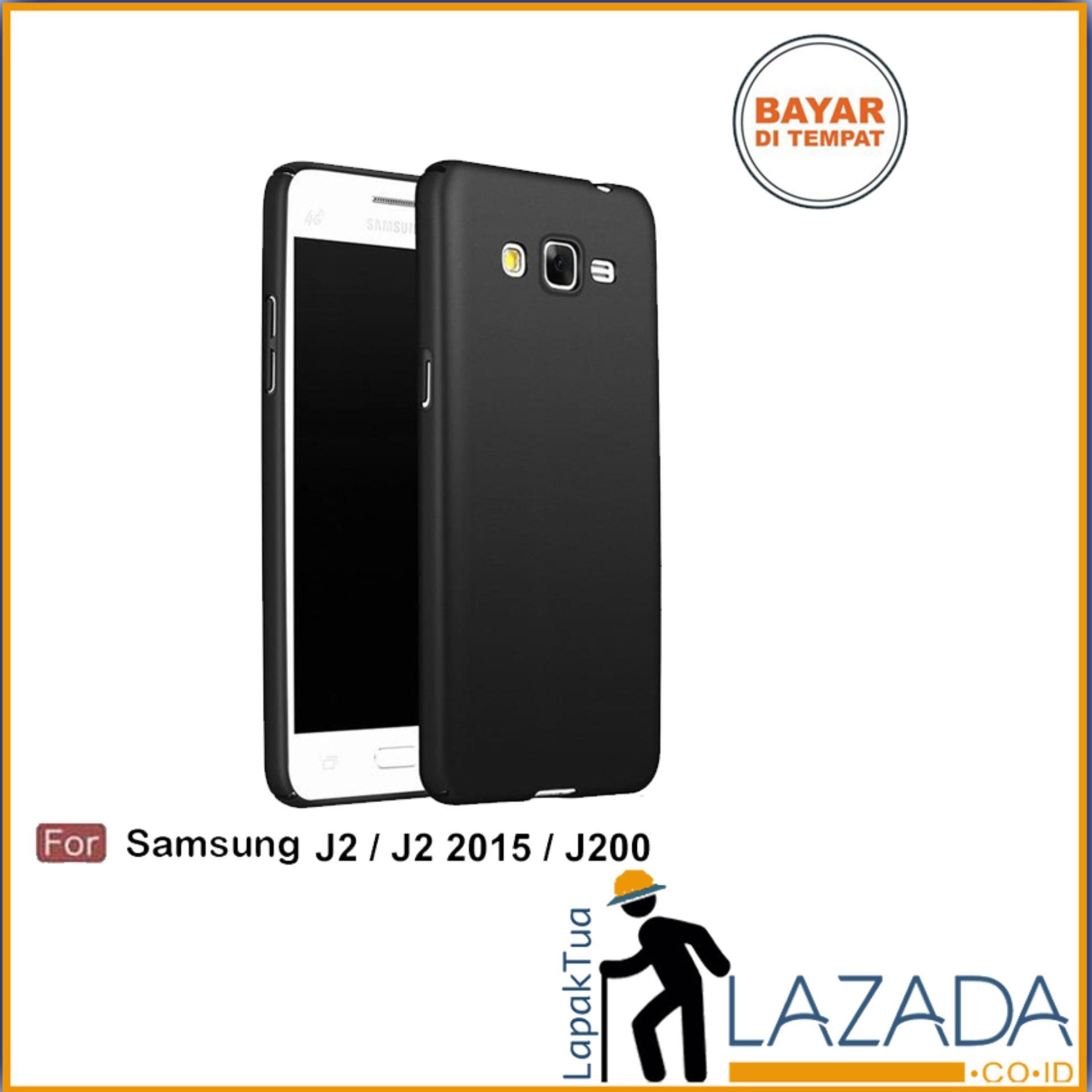 Lapak Case - Softcase Midnight Black Matte Case Ultraslim Baby Skin Untuk Samsung Galaxy J2 / J200 / J2 2015 / J2 Duos / J200G