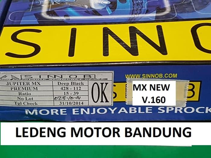Sinnob Gear Set Jupiter MX Rantai Komplit GirSet Depan
