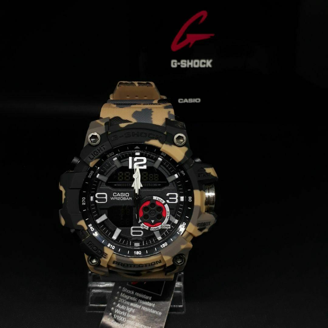 Jam Tangan Pria Casio G Shock Rangeman Dualtime Limited Edition3 7900 3dr Resin Green Fashion Sport Army Dual Time