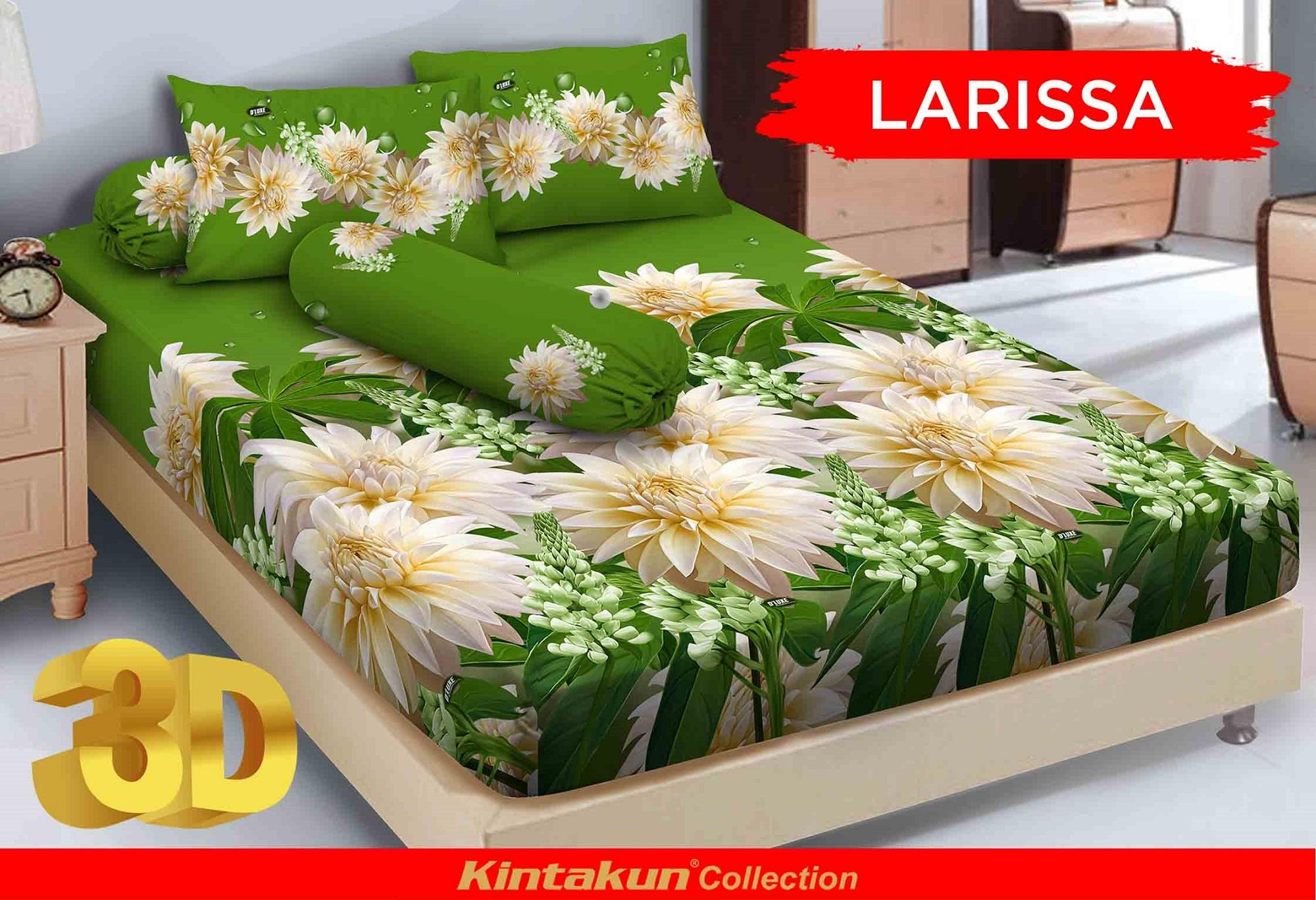 Sprei Bed Cover Kintakun Terbaru Deluxe Pisano Ukuran 180x200 Dluxe 180x200cm Larisa
