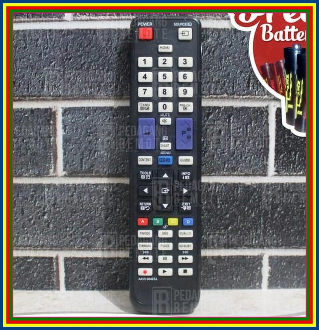 Remot Remote TV Samsung LCD LED Aa59-00465A KW Super