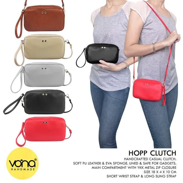 VONA Tas Wanita Clutch Selempang Sling Bag Branded Murah Grosir HOPP 823b0c2416