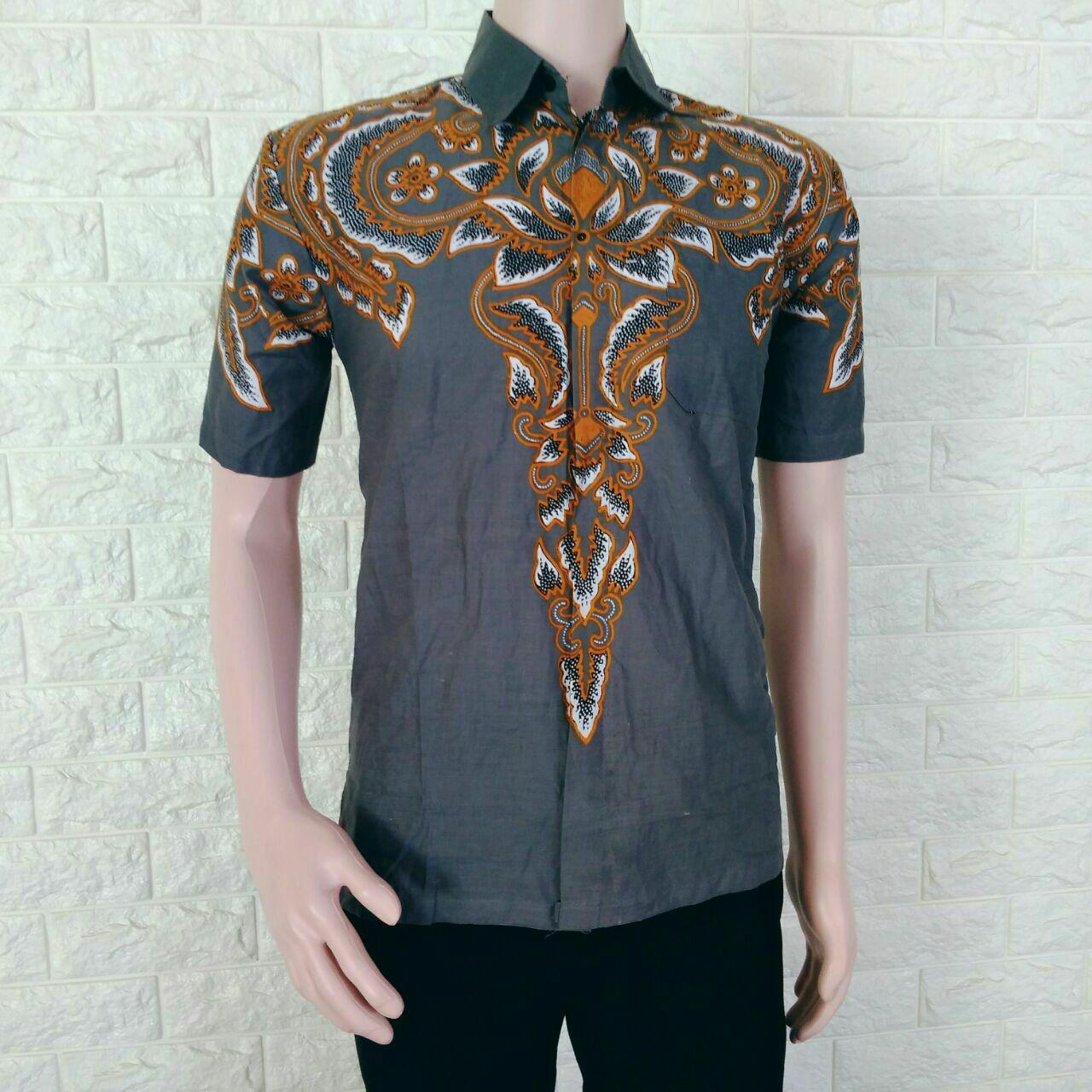 Kemeja Batik Kombinasi Kemeja Batik Pria Elegan Terbaru Keren Kemeja Batik  Hem Batik Hem Batik Pekalongan 0b87241f1e