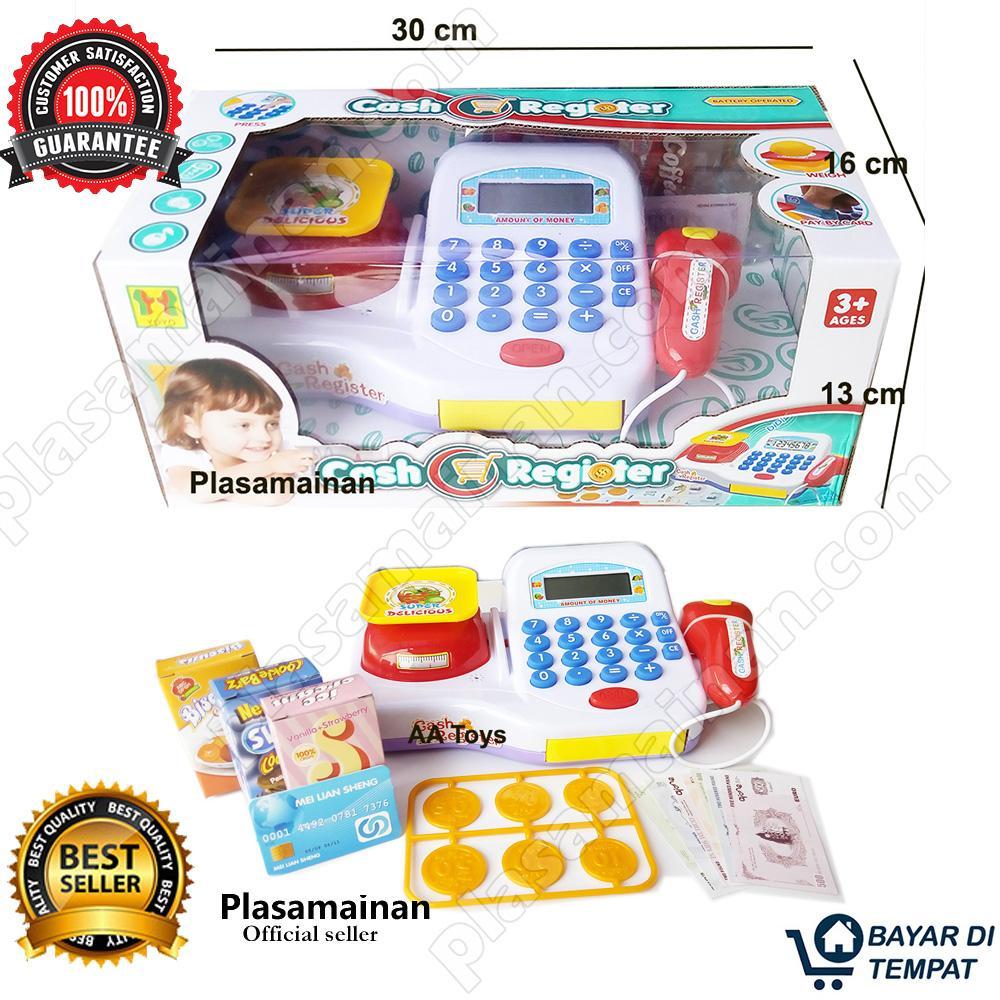 Aa Toys Cash Register Bo 66030bx Mainan Mesin Kasir By Plasamainan.