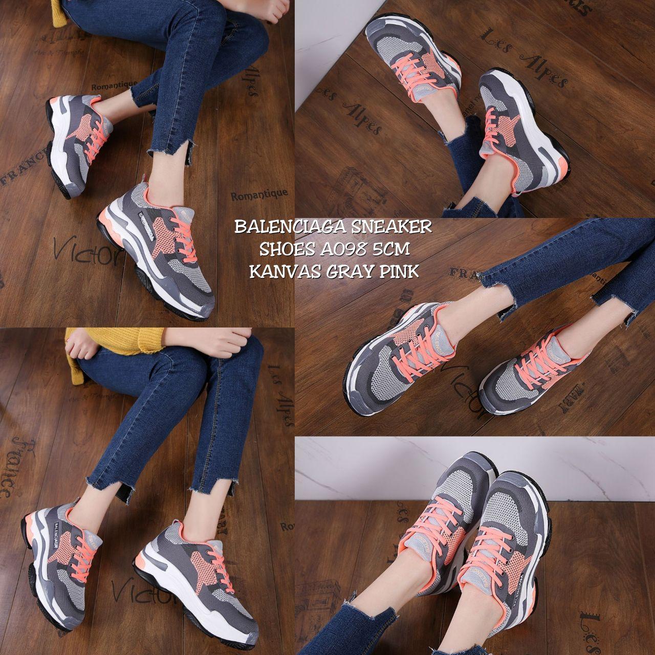 Sepatu Wanita Balenciaga Sneakers A098