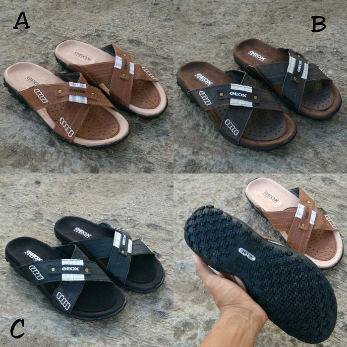 Harga New Item Sandal Kulit Pakalolo N 0873 Brown Original Quality Terbatas